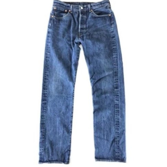 4215c3c27ef Levi's Jeans | Levis Mens 501 Button Fly Medium Wash | Poshmark